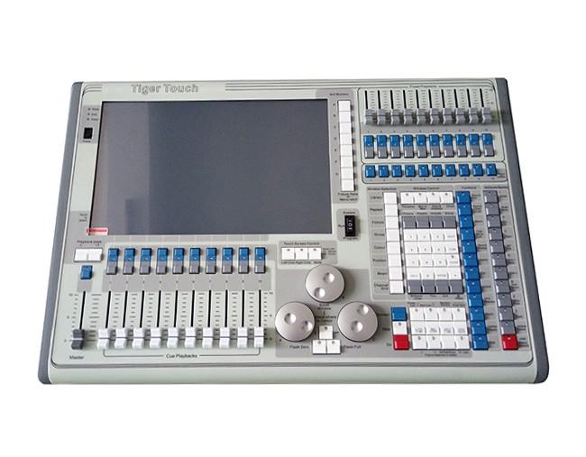 TT触摸老虎控台电脑控台DMX512控台灯光控台生产厂家广州控台厂家