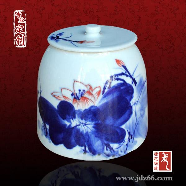 陶瓷拔火罐 青花拔火罐 定制厂家 陶瓷拔火罐定做厂家