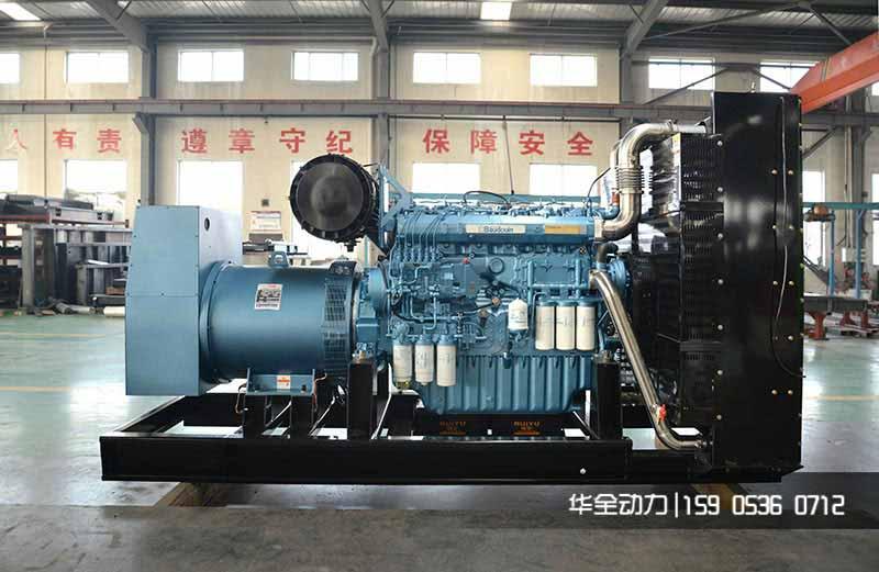 潍坊燃气发电机200kw能源结构及夏季保养
