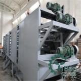 连续式网带干燥机自动出料带式干燥机脱水蔬菜干燥机