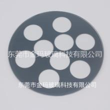 【东莞厂家批发】丝印异形长方形钻孔打孔精密切割不规则形状玻璃 丝印异形 打孔钢化玻璃
