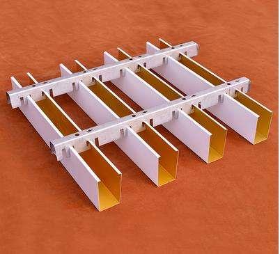 木纹铝方通 型材铝方通 异形铝方通