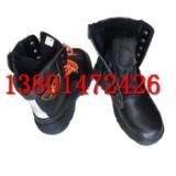 抢险救援靴皮加棉钢包头救助鞋