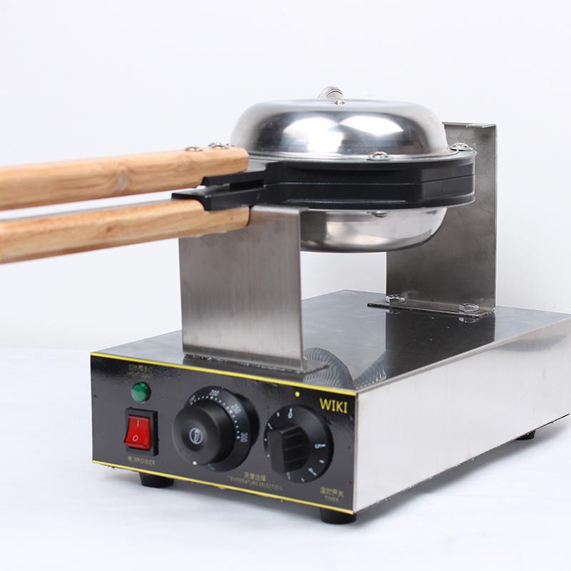 厂家批发烘培设备电热鸡蛋仔机商用格子饼机家用qq蛋仔机一件代发