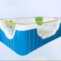 豪华3米三面透明玻璃儿童游泳池郑州圣豪科技有限公司