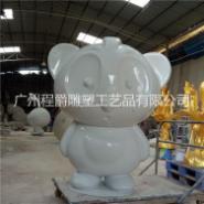 新款玻璃钢熊猫公仔图片