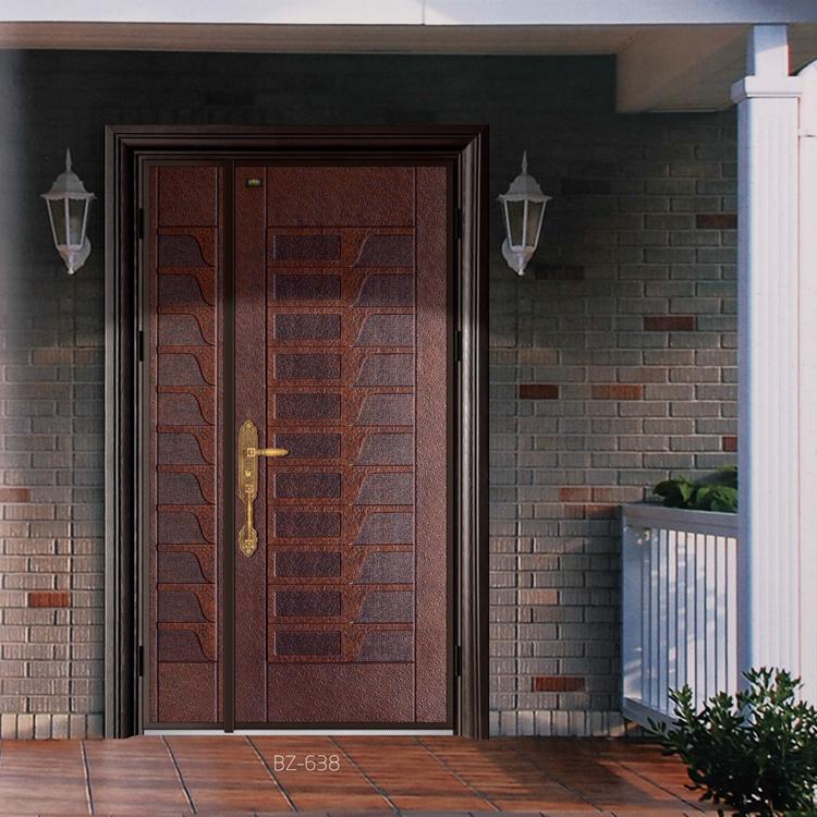 贝尔卡洛铸铝门别墅入户门 上海包安装 上门测量入户门 上海市贝尔卡洛总经销 0.8cm厚实心铝板