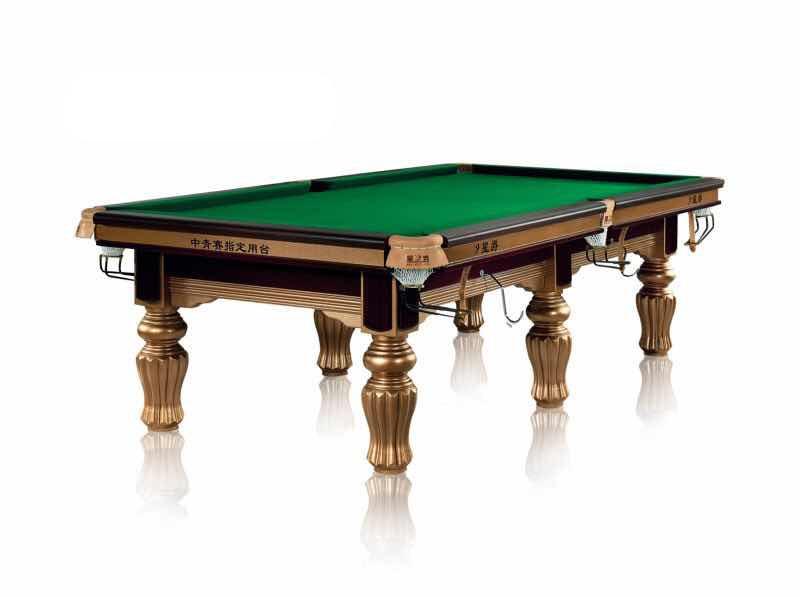 中式台球桌 英美式两用台球桌 标准美式黑八台球桌 桌球台英式 高档台球桌