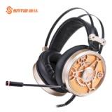 V6 速钛厂家直销亚马逊外贸耳机头戴式有线游戏电脑PC电竞降噪电脑耳麦批发