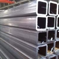 供应云南地区方管 矩形管  护栏围栏楼梯扶手专用材料 室外广告支架防锈镀锌方管