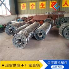 塔吊配件 钢丝绳滑轮280mm u型槽轮 吊轮 起重 吊装滑轮 铸铁滑轮批发