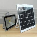 30W遥控太阳能泛光灯 路灯 批发室外照明灯具厂家直销红外感应泛光灯