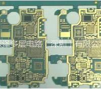 HDI  HDI 线路板(8层2阶手机板)