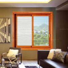 厂家直供可定制门窗,窗纱一体室内推拉窗