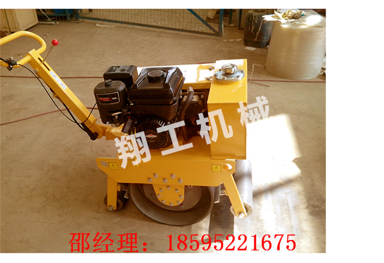 修补路面便携式压路机  北京手扶双轮压路机 小型压路机厂家