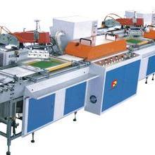 自动无纺布丝网印刷机 供应无纺布卷料连续丝网印刷机图片