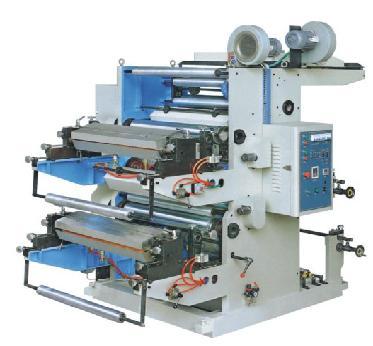 各类型凸版非标准印刷机 2色PP无纺布柔性凸版印刷机(图