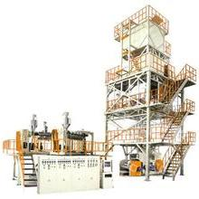 聚烯烴熱收縮膜塑料吹膜機械 三層共擠POF熱收縮膜吹膜機組批發