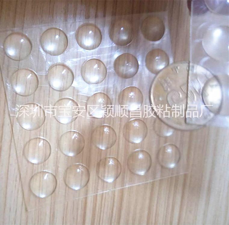 食品级硅胶垫片 高透明半圆形硅胶防撞粒 环保高品质玻璃脚垫 瓶盖密封垫圈防水硅胶垫厂家