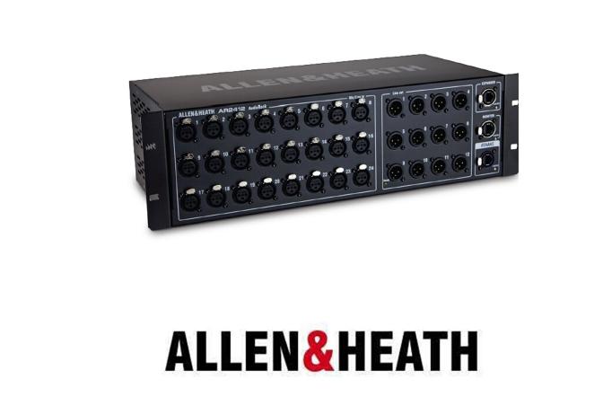 A接口箱 AR2142拥有24路输入、12路输出的音频机架,带有dSNAKE连接、扩展端口和 AH接口箱 AR2142