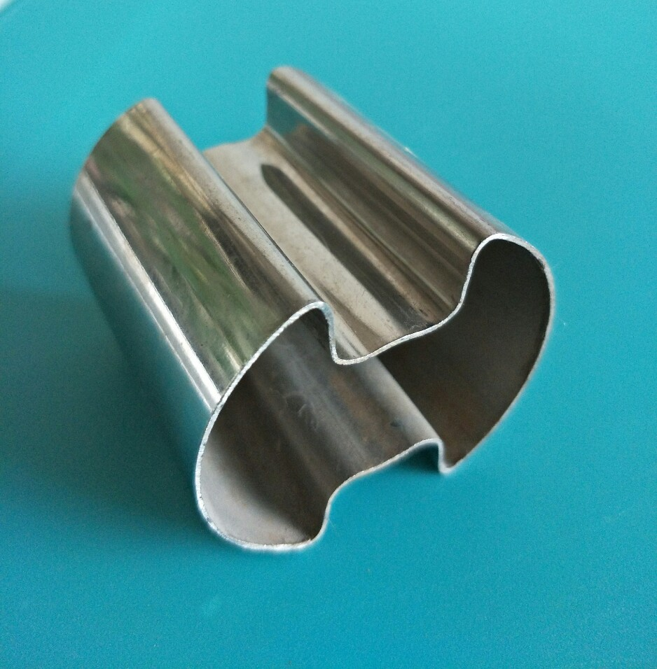 厂家直销不锈钢槽管 单槽、双槽管 扶手、门拉手装饰管 201、304不锈钢管 批发价