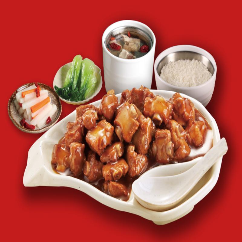 带骨辣子鸡150g调理包煲仔饭料理包乐优谷方便速食快餐批发