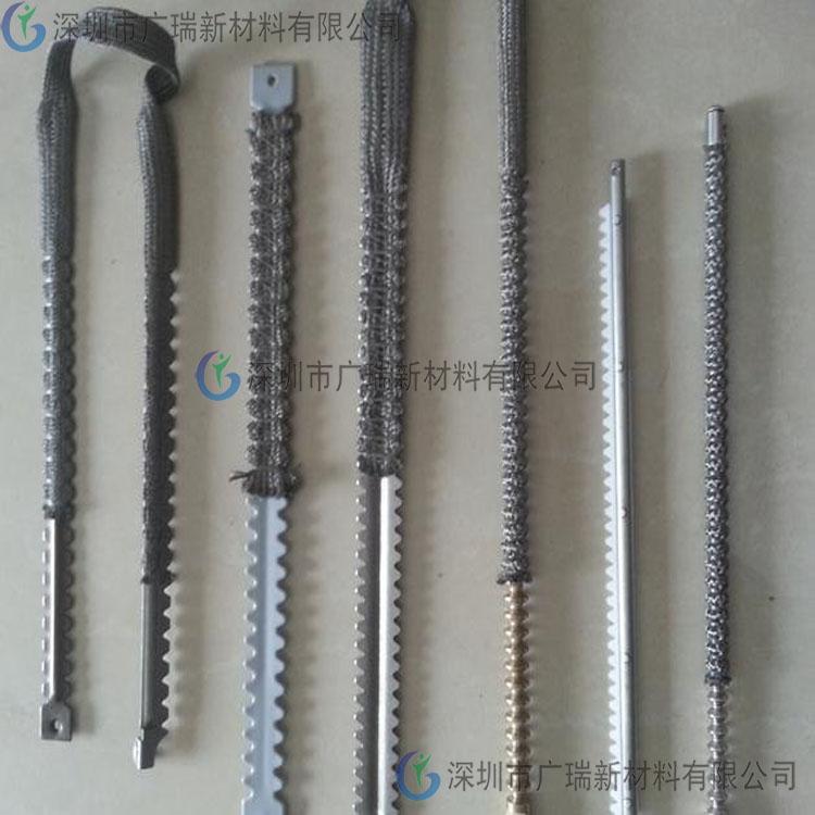 钢化篮齿条包覆耐高温套管/高温线/高温布厂家直营-深圳广瑞品牌