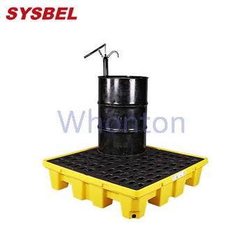 盛漏托盘SPP104  西斯贝尔四桶盛漏托盘  泄漏防护