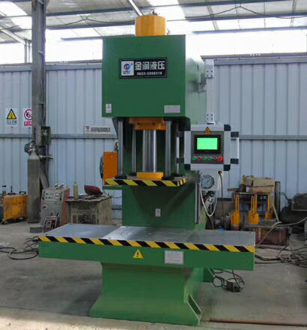厂家直供数控单柱液压机 100T