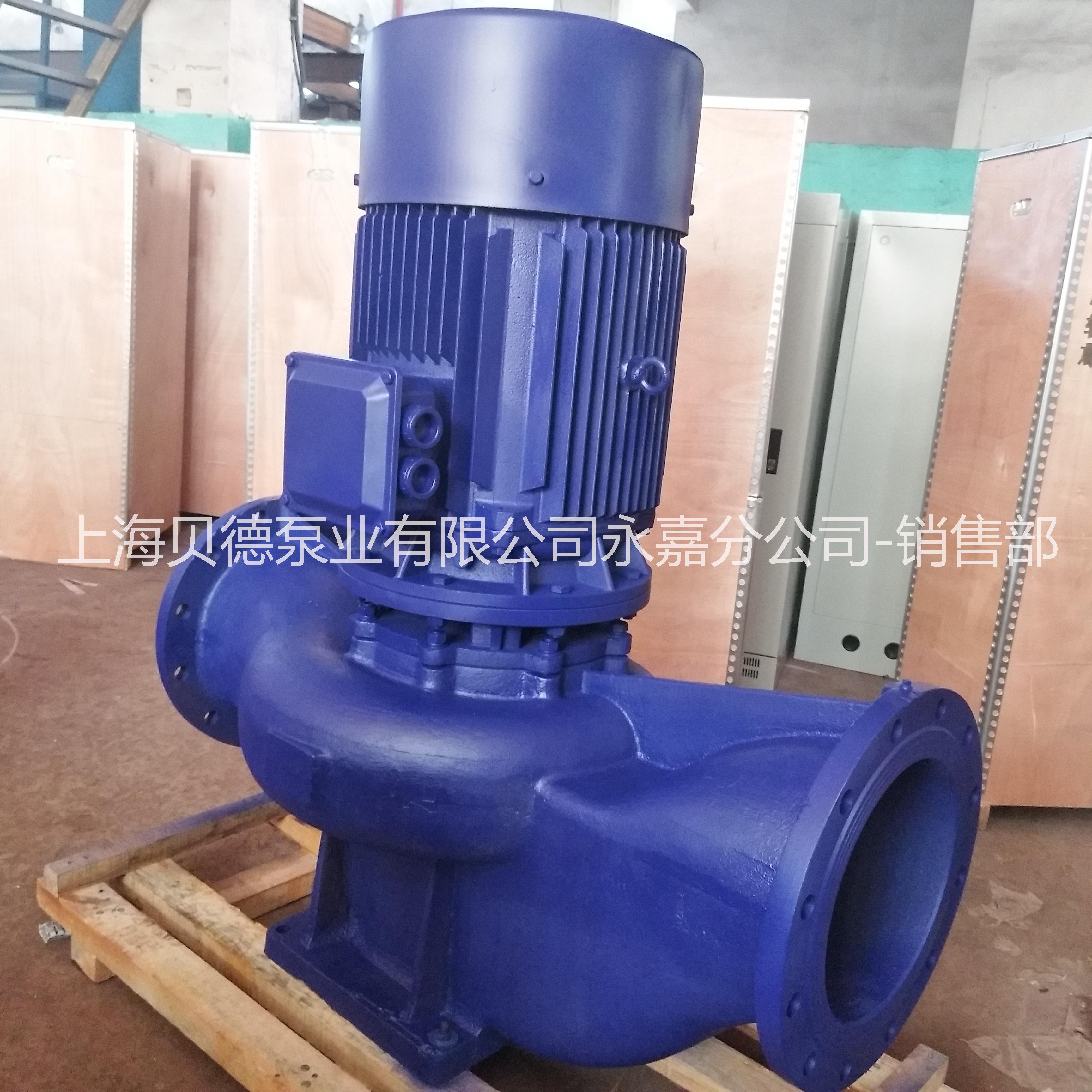 上海贝德泵业有限公司西安办事处ISG50-160  管道循环泵,自动单级单吸管道泵  ISG管道循环泵