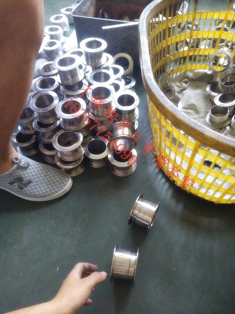 不锈钢穿墙套管,单片,双片,螺母304套管