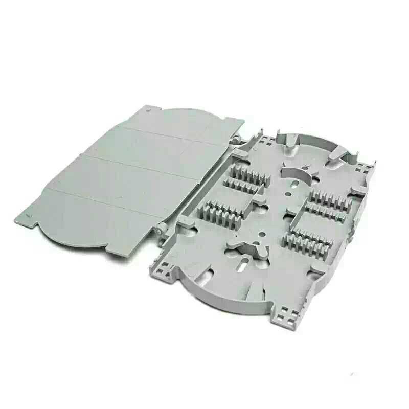 12/24芯熔纤盘光缆终端接续盒尾纤盘光纤熔接盘接线盒,防阻燃