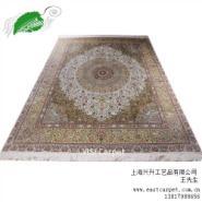 手工真丝地毯图片