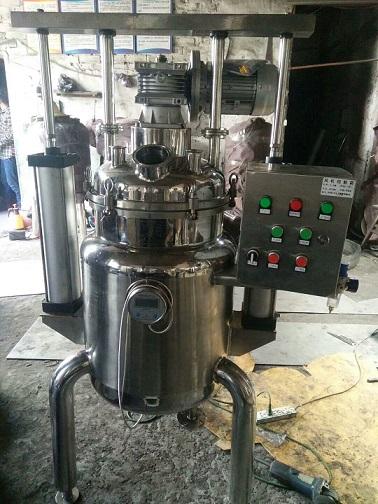 不锈钢板板气动提升溶胶罐 水浴式溶胶罐工艺