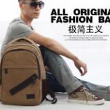 上海厂家生产定做帆布背包学生书包 牛津布背包可加logo