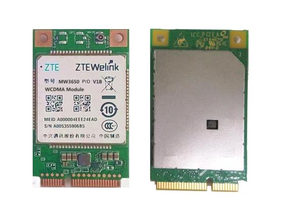 MW3650 MINI PCIE 接口 高新兴/中兴 联通3G模块 WCDMA 模块 原装