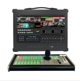 高清录播一体机 便携式网络直播一体机 导播直播切换台设备