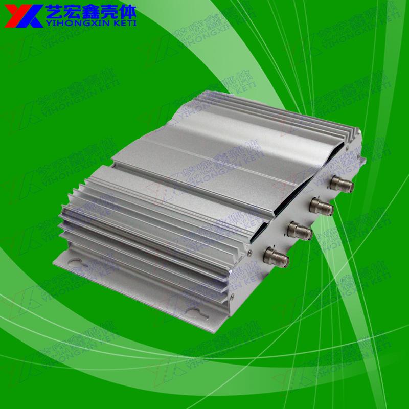 深圳艺宏鑫提供铝工业型材车载gprs铝合金外壳全铝机箱