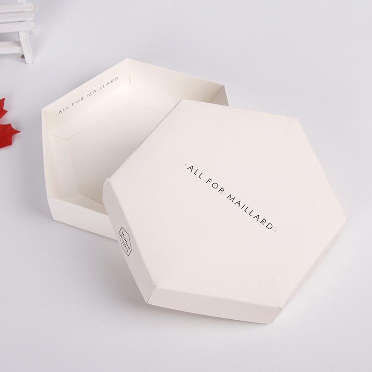 化妆品白卡纸盒 彩色盒子 印刷礼品包装盒定制logo