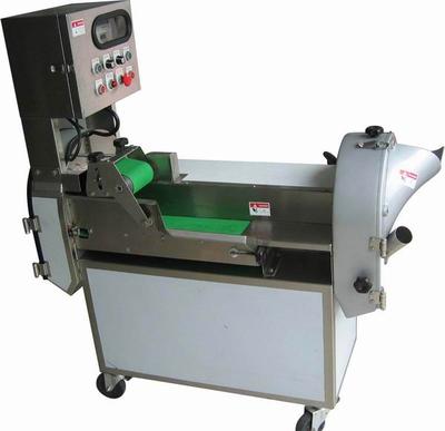不锈钢切菜机  自动切菜机小型视频