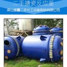 直销二手5立方不锈钢反应釜 二手5吨搪瓷反应釜 二手5吨搪瓷反应釜厂家图片