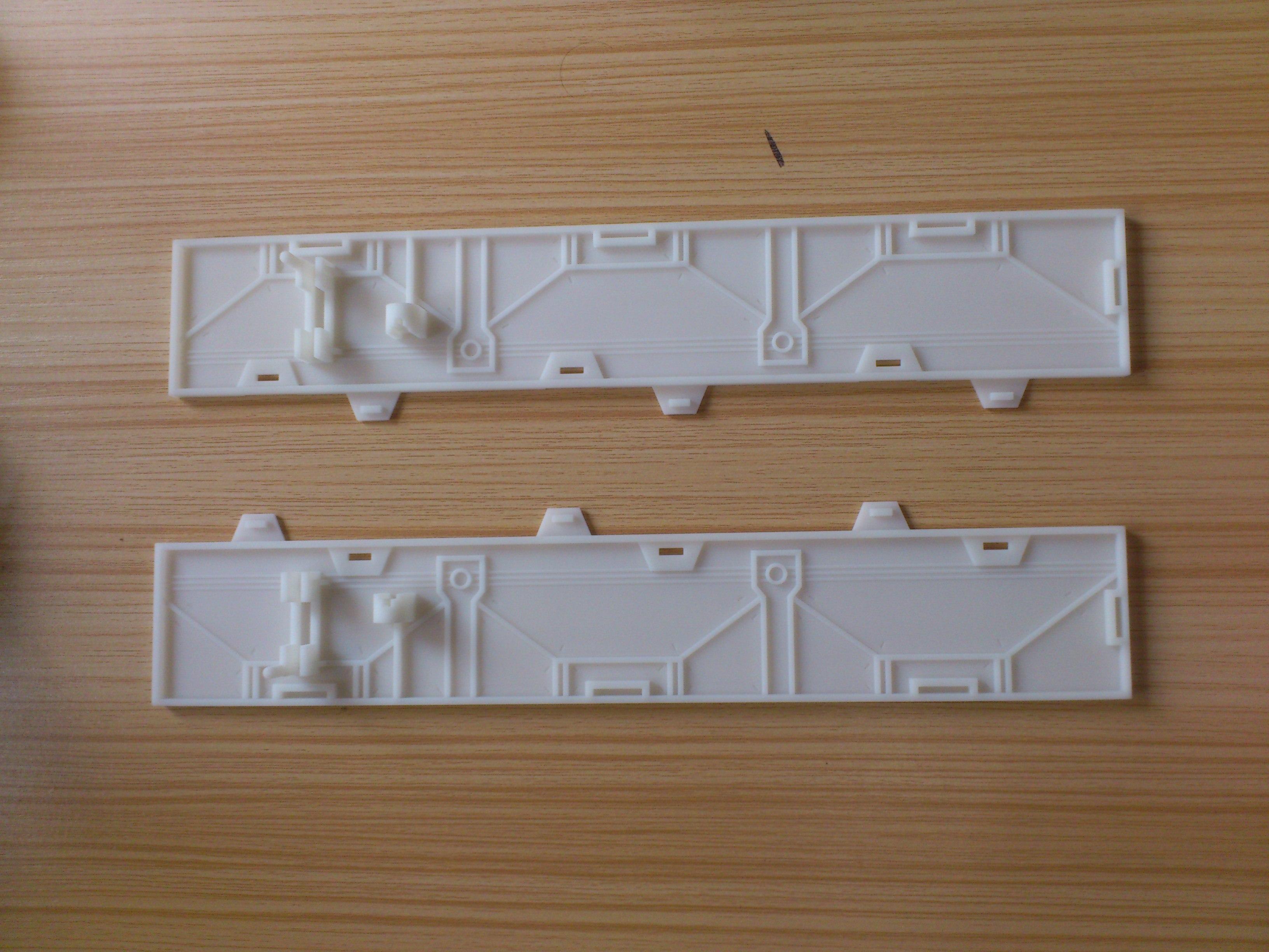 汇通三维打印   塑胶模具加工 3D打印服务  发动机模型 手柄手板