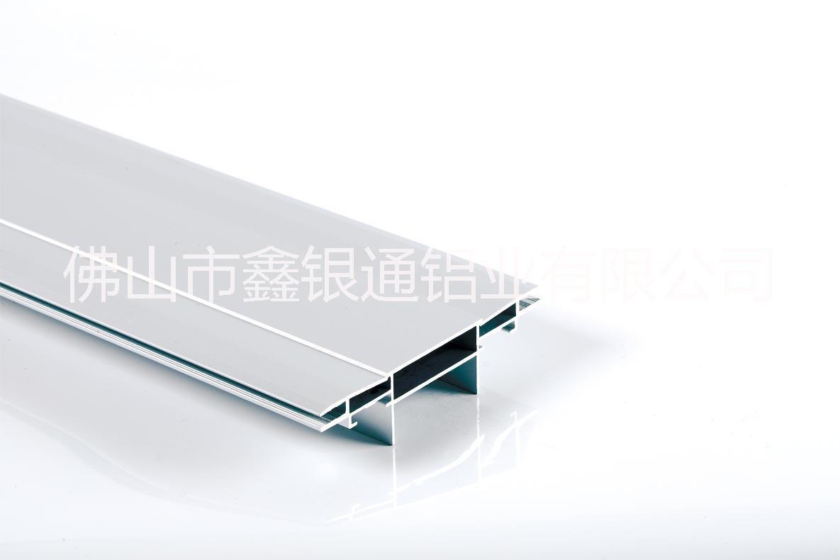 双面卡布灯箱边框铝型材 双面卡布灯箱无边框铝型材