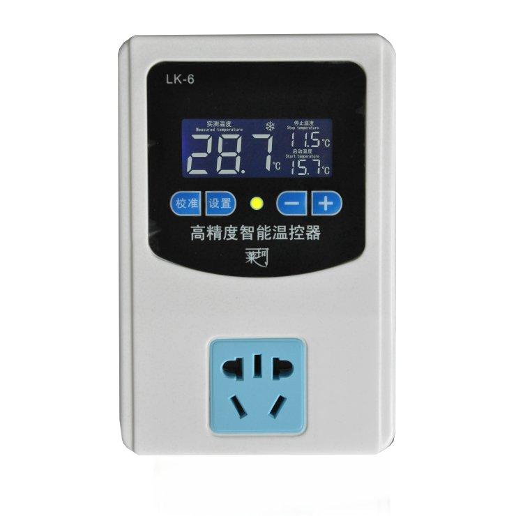 LK-6液晶温控插座