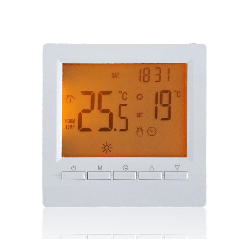 壁挂炉液晶温控器(电池供电)