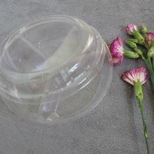 源头厂家 订制3格500g装鲜果切盒 三分格水果盒 吸塑包装 水果盒批发