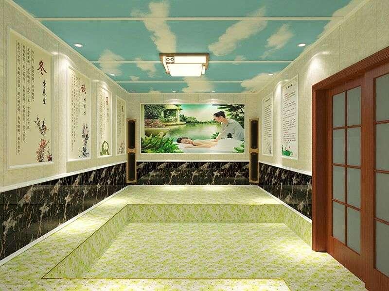 韩式汗蒸房安装承建  电气石托玛琳汗蒸房 汗蒸房装修公司