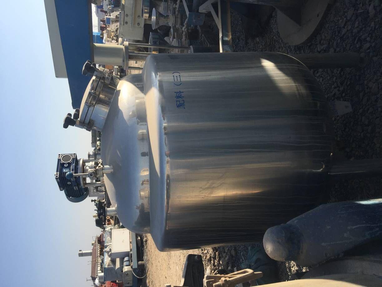 出售二手5吨搪瓷反应釜 二手1-5吨搪瓷反应釜 二手不锈钢反应釜 搪瓷二手反应釜