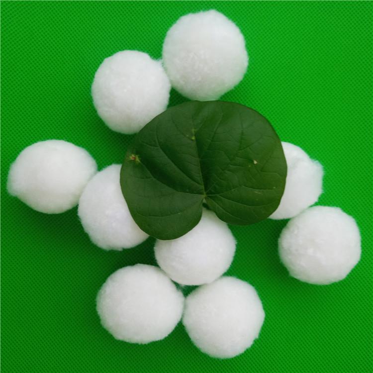 供应改性纤维球滤料  40mm锦纶改性纤维球滤料价格
