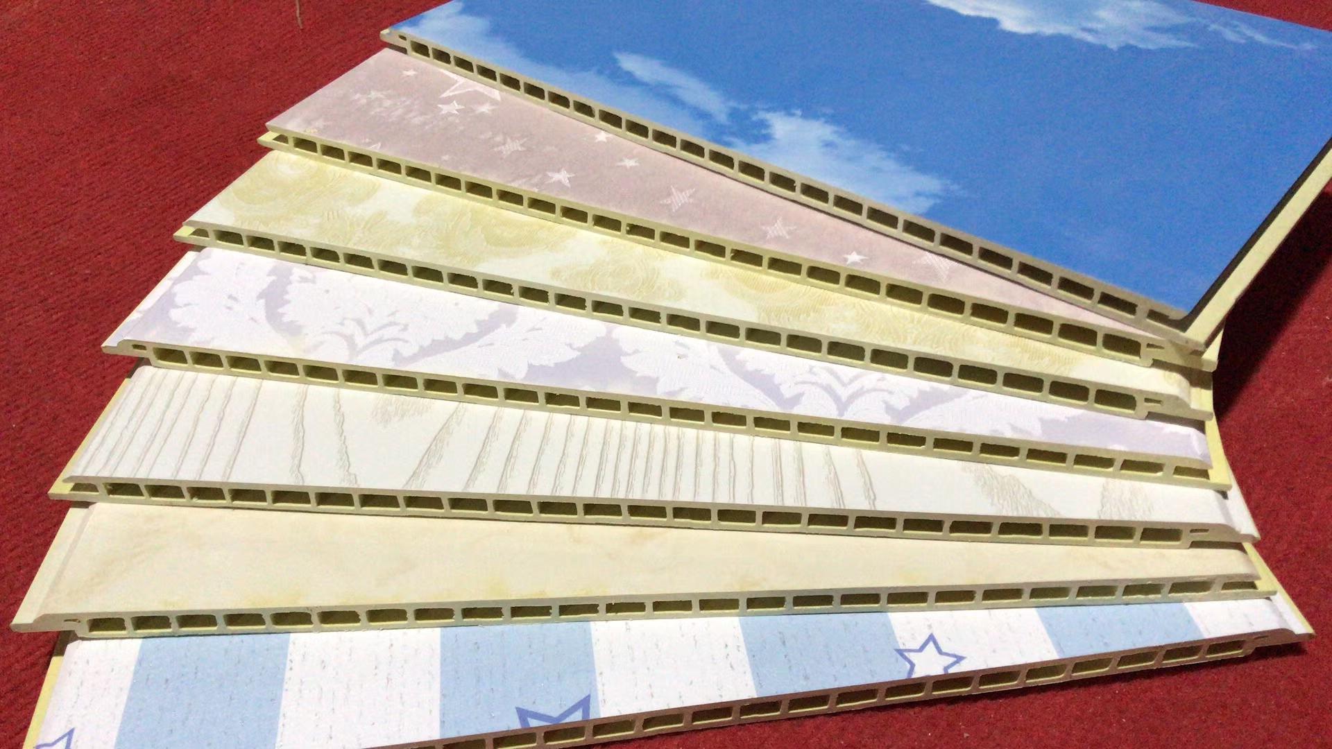 竹木纤维集成墙板 竹木纤维集成墙板300*9